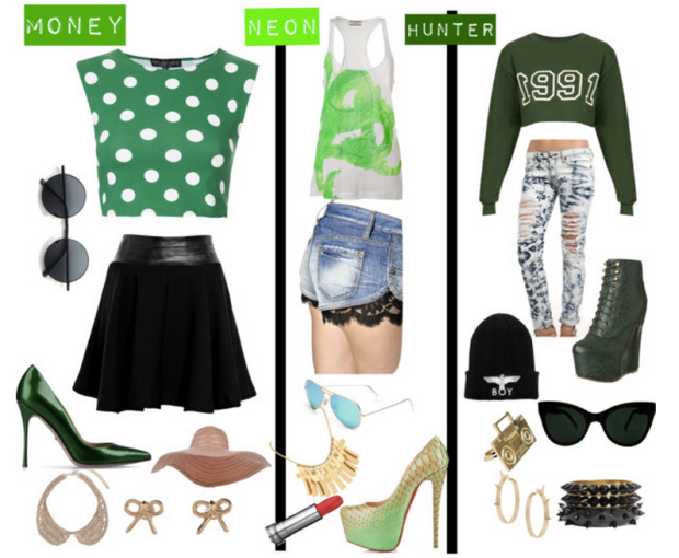 green-outfits