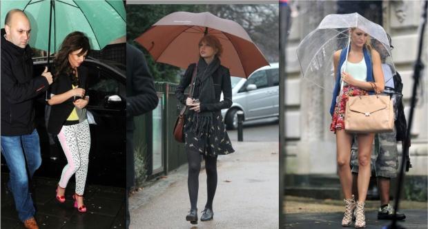Who Wore it Best: Rain Gear