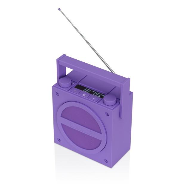 purple speakers