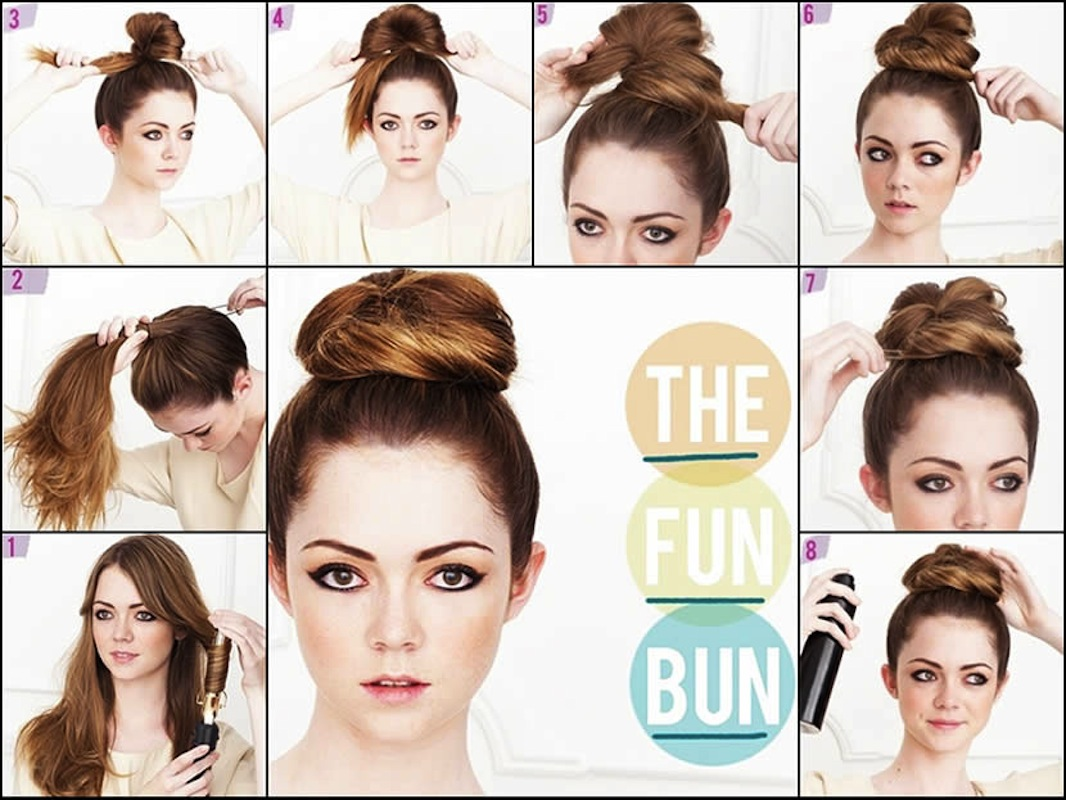 Tremendous 7 Unique Ballet Bun Hairstyles Tutorials Fly Gyal Dance Hairstyle Inspiration Daily Dogsangcom