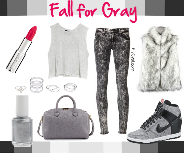 gray mood board
