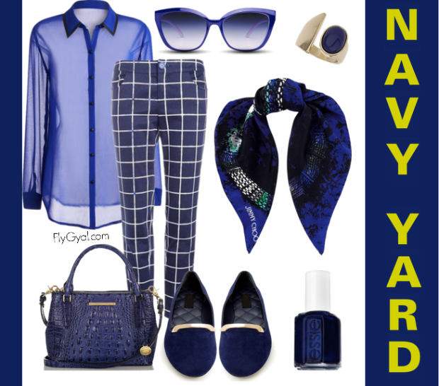 navy blue fall fashion